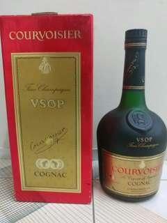 代售陳年舊版沙樽拿破崙干邑VSOP Napoleon Courvoisier Cognac Fine Champagne 700ml