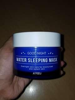 Apieu water sleeping mask from korea