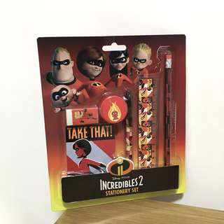 The Incredibles 2 Stationery Set