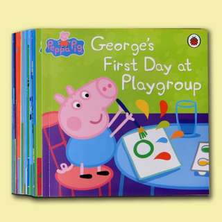 Peppa Pig Books Set of 20 + 2 CDs [Authentic!]