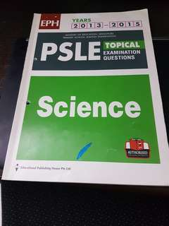 PSLE Science Topical Examination questions