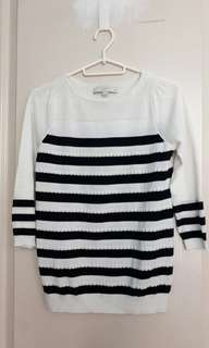 Loft knitted sweater top