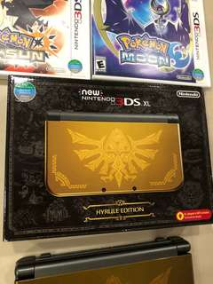 New Nintendo 3DS XL Bundle (with games)
