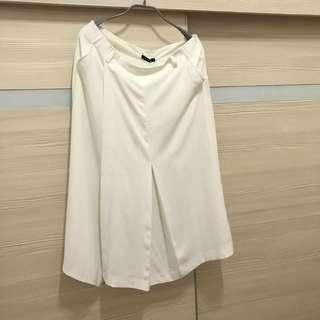 🚚 moma雪紡褲裙(40)號吊牌未剪(付贈皮帶哦)