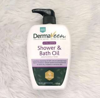 DERMAVEEN Created by Nature Shower & Bath Oil