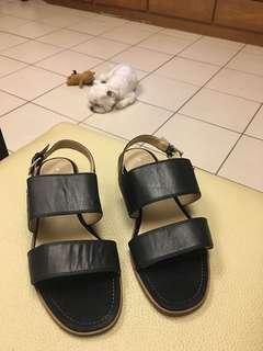 🚚 Marc O'polo 瑞典高端品牌 無敵優惠價真皮涼鞋