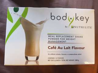 Amway Body Key Cafe Au Lait Flavour - 10 packets