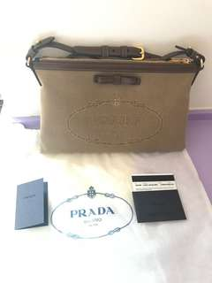 Prada two way small bag