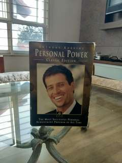 Tony Robbins Personal Power DVDs