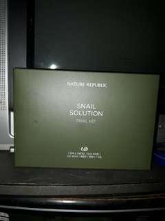 Nature Republic Snail Solution Trial Kit