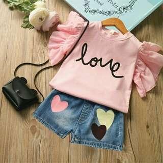 Set Rebbeca Pink Love