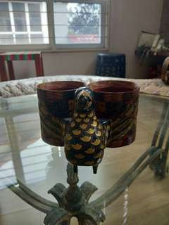 chibese lacquerware. phoenix