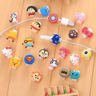 Cute Cartoon Cable protector accessories