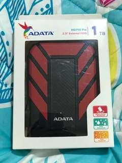 Adata HD710 Pro 1TB Red USB 3.1 Portable Hard Disk Drive