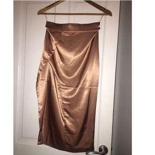 Meshki Rose Gold Skirt
