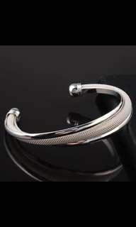 The new woven bracelet Net open lady bracelet pure copper lady bracelet size 6.3 cm 2018