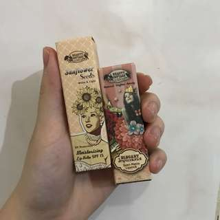 Beauty Cottage Lipstick & Lip Balm