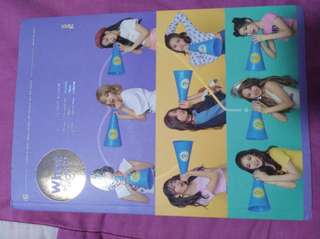 Twice What Is Love Ver. B unsealed album