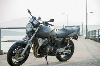 Honda CB400 Super four big one