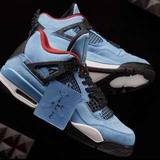 "bd3d460f65a US 8.5-10.5 Travis Scott x Nike Air Jordan 4 ""Cactus Jack"" CONFIRMED"