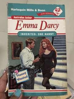 Inherited: One Nanny by Emma Darcy
