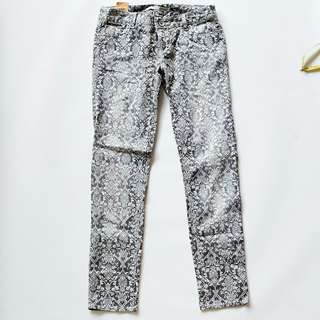 Ethnic grey casual pants
