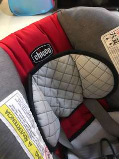 Chicco stroller with carseat