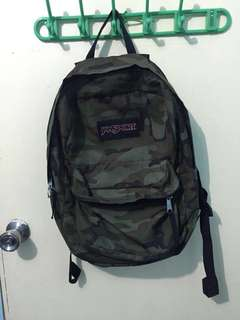 CLASS A-Jansport Camouflage Bag
