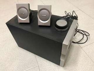 Bose speaker full set