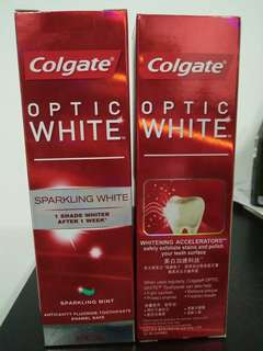 Colgate Optic White Sparkling White