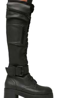 LOOKING FOR: Dollskill current mood boots obsidian boots