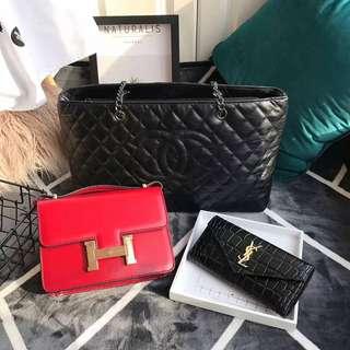 3 IN 1 (Chanel & Hermes & YSL)