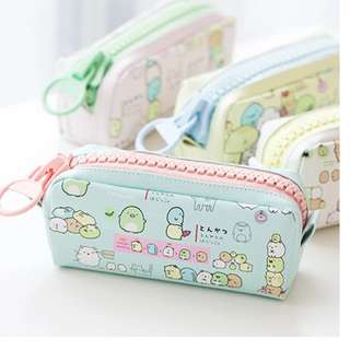 BN SUMIKKO GURASHI BIG ZIPPER PENCIL CASE @ $9 ONLY!!!