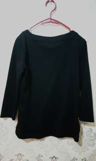 Black Sophisticated Top