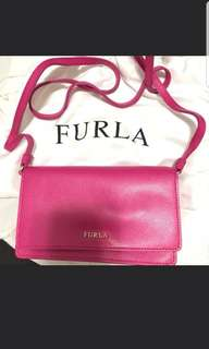 Furla ~ Clutch Bag  手袋 手提袋 斜咩