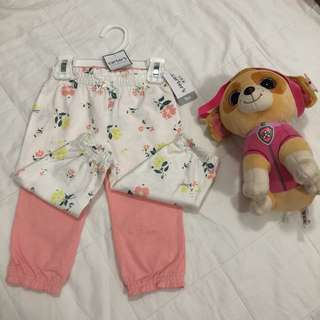 Carter's 2-pc baby pants