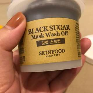 Black Sugar Mask Wash Off