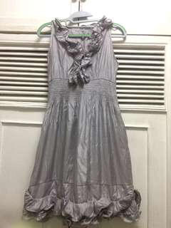 Silver Formal/Party Dress