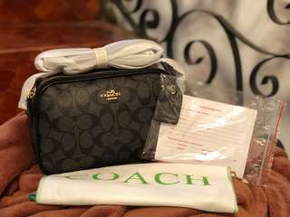 COACH SLING BAG (Black)