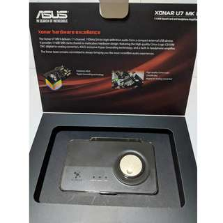 External Sound card ASUS Xonar U7 MKii