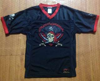 Disney Pirates of the Caribbean Jersey Authentic