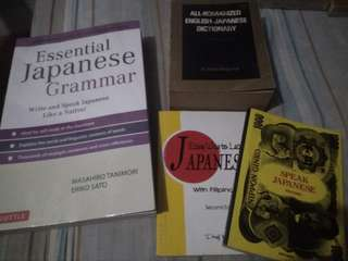 Japanese books set..