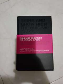 Think and grow rich ** science of getting rich**