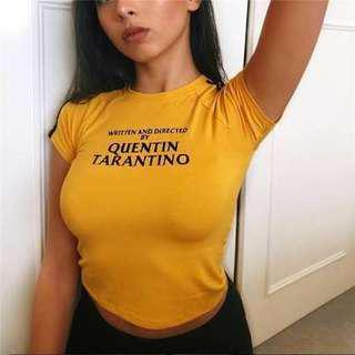 Written and directed by Quentin Tarantino shirt - similar to Omighty