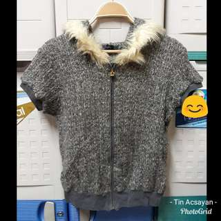 Gray Winter Blouse