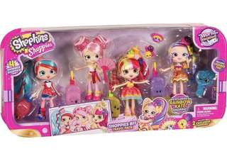 Shopkins shoppies bff travel pack