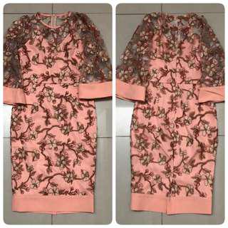 Doublewoot  Duliamis Dress (Peach)