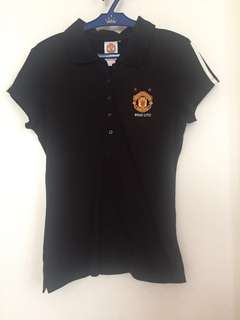 Authentic Manchester United Women's Polo Shirt