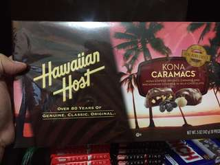 Hawaiian Host Kona Caramacs