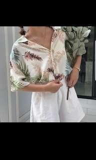 [Preorder] Ladies Floral Blouse